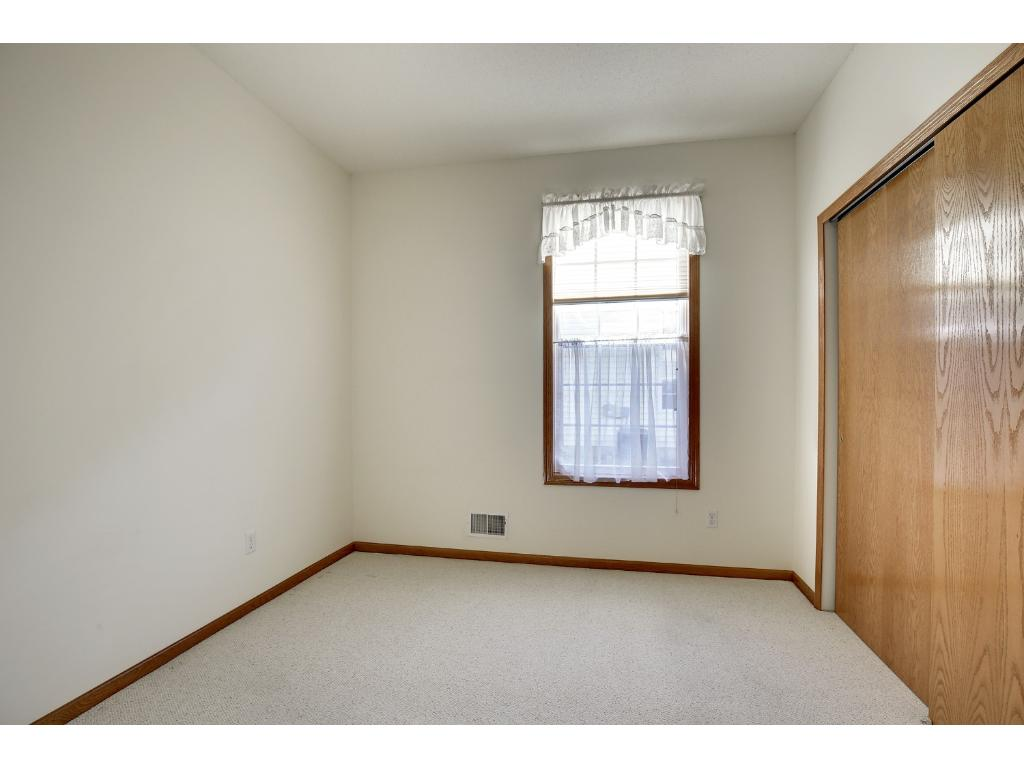 Second bedroom also has great closet space.