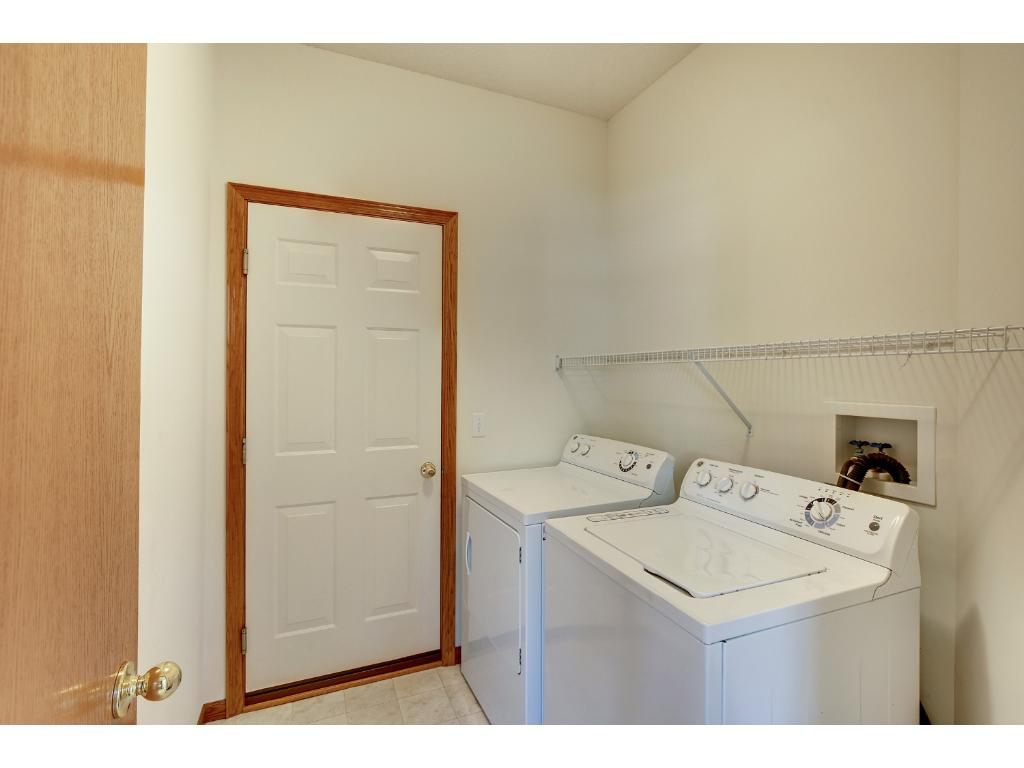Laundry room and mud room.