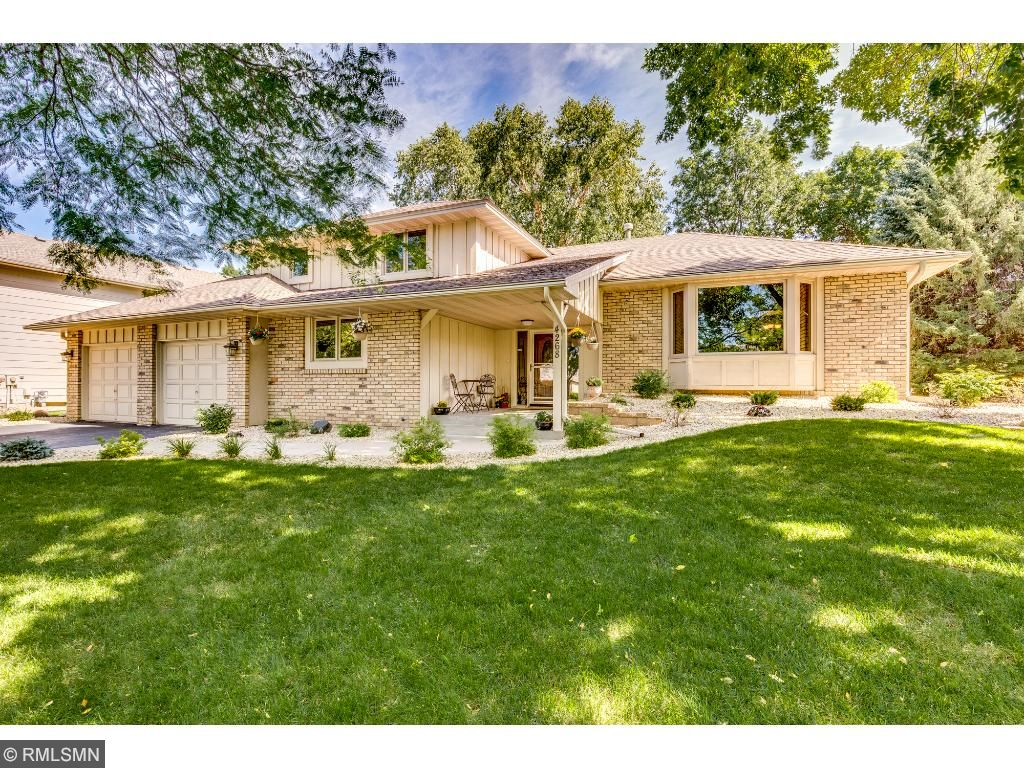 This extensively updated home sits on a great lot near many trails, parks and lakes.