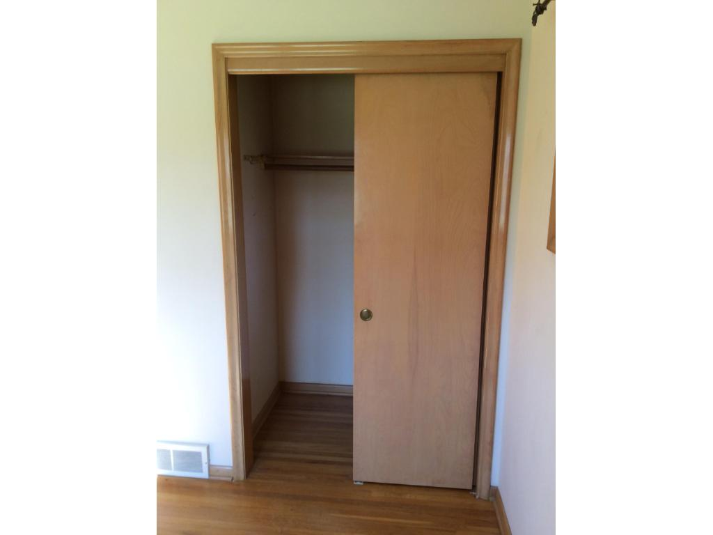 One of the Master bedroom closets