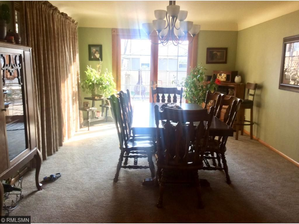 Large and bright formal dining room