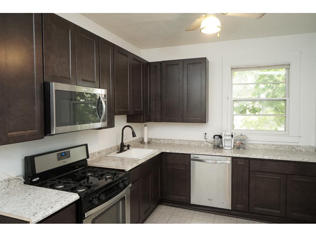 New 42' upper kitchen cabinets, New appliances, New counters, New sink & New faucet. 15x10