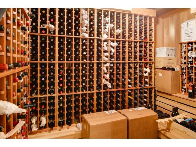 Your wine collection will be well protected in this amazing wine cellar.