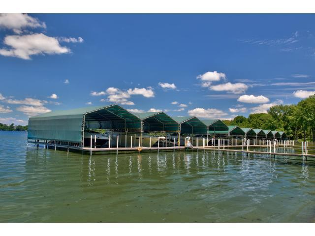 Premiere deeded dock and lake access with a 40 foot boat slip on Lake Minnetonka-Halstead's Bay.