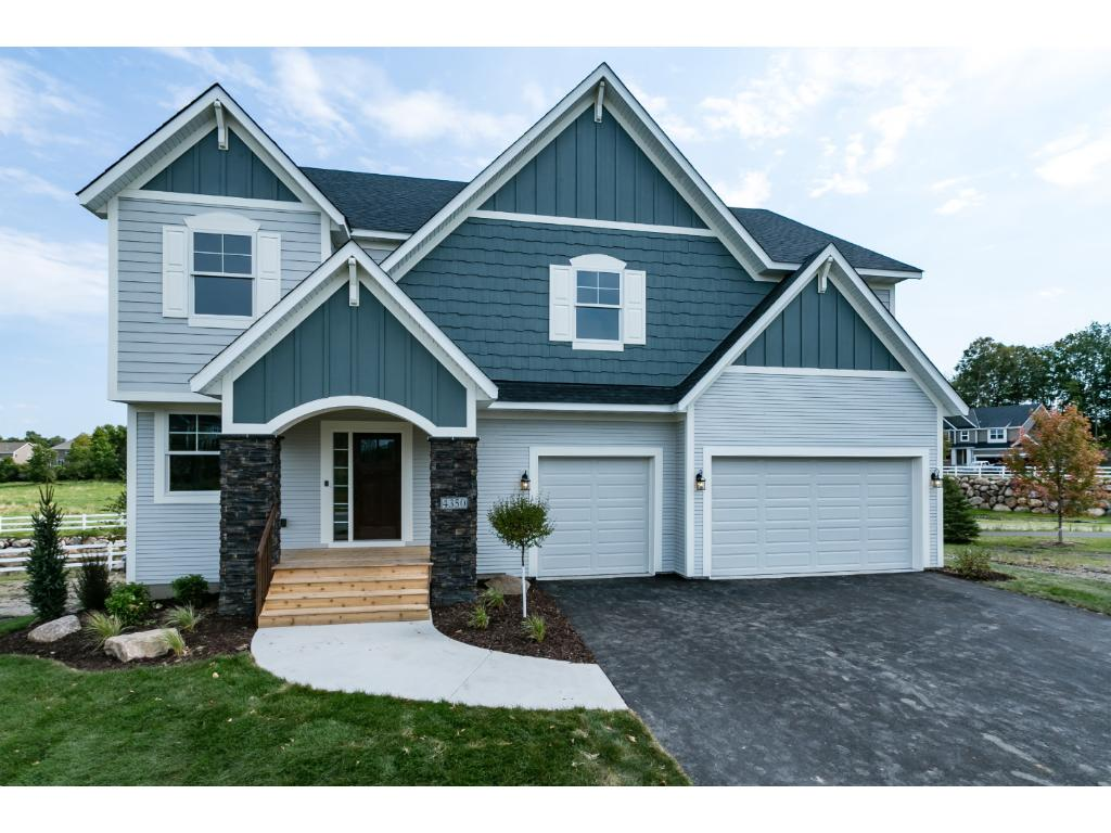 Custom Home with Andersen Windows- And Greenpath home with HERS Score of 47.  SAVE thousands per year on Energy Costs..
