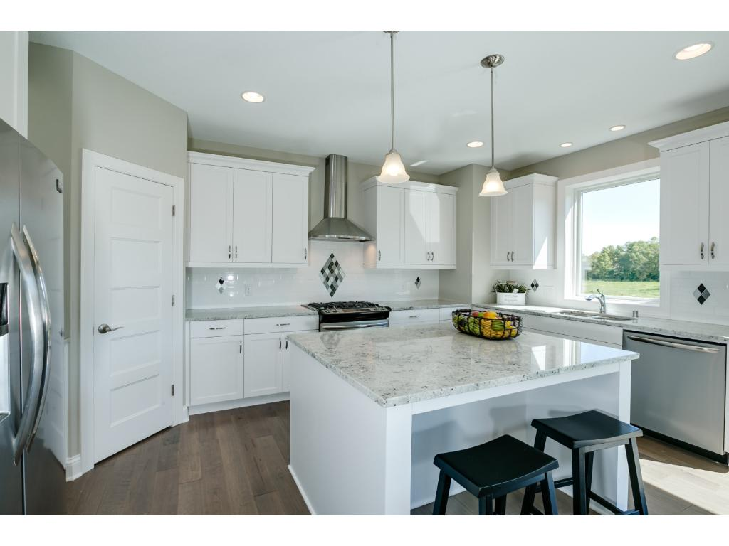 High end Custom Finishes in the Kitchen