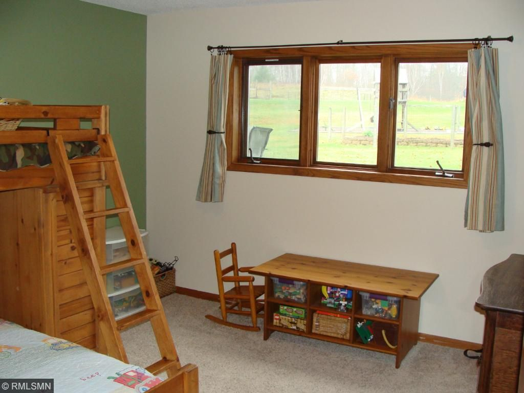 Family room area with walk out.