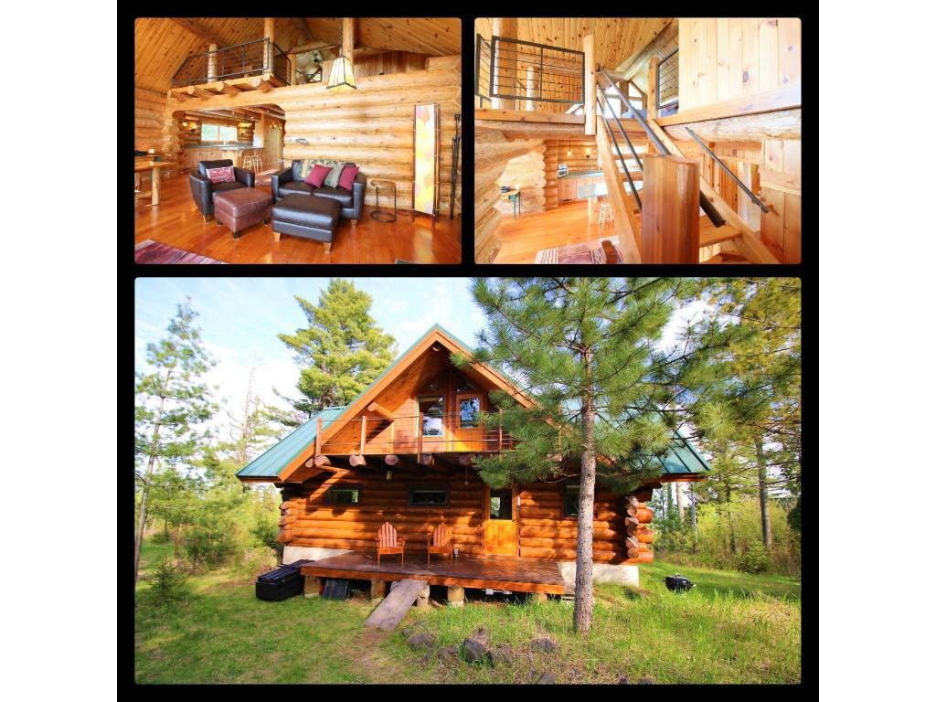 Charmant Quality Craftsmanship Shines Through This Beautiful Log Cabin On 3.9 Wooded  Acres. Convenient To Split