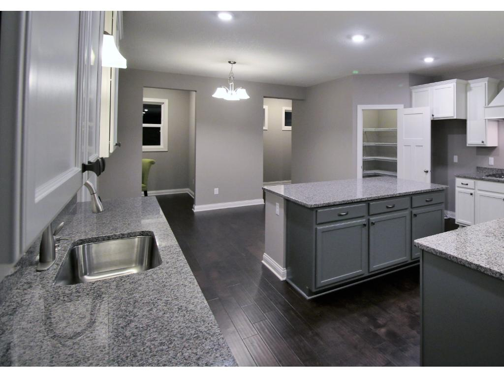 In the pursuit of great kitchens this  open flow optimizes the living spaces for cooking-entertaining guests/family.