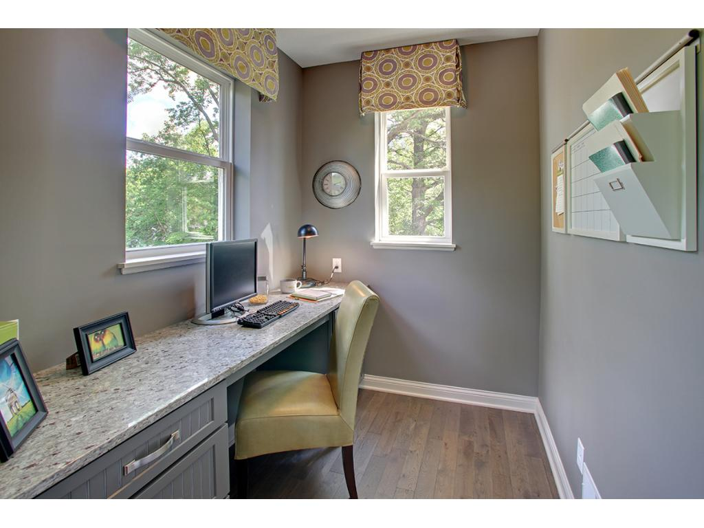 The mini office makes for the perfect homework spot, planning or invitations, a fun little creative nook.
