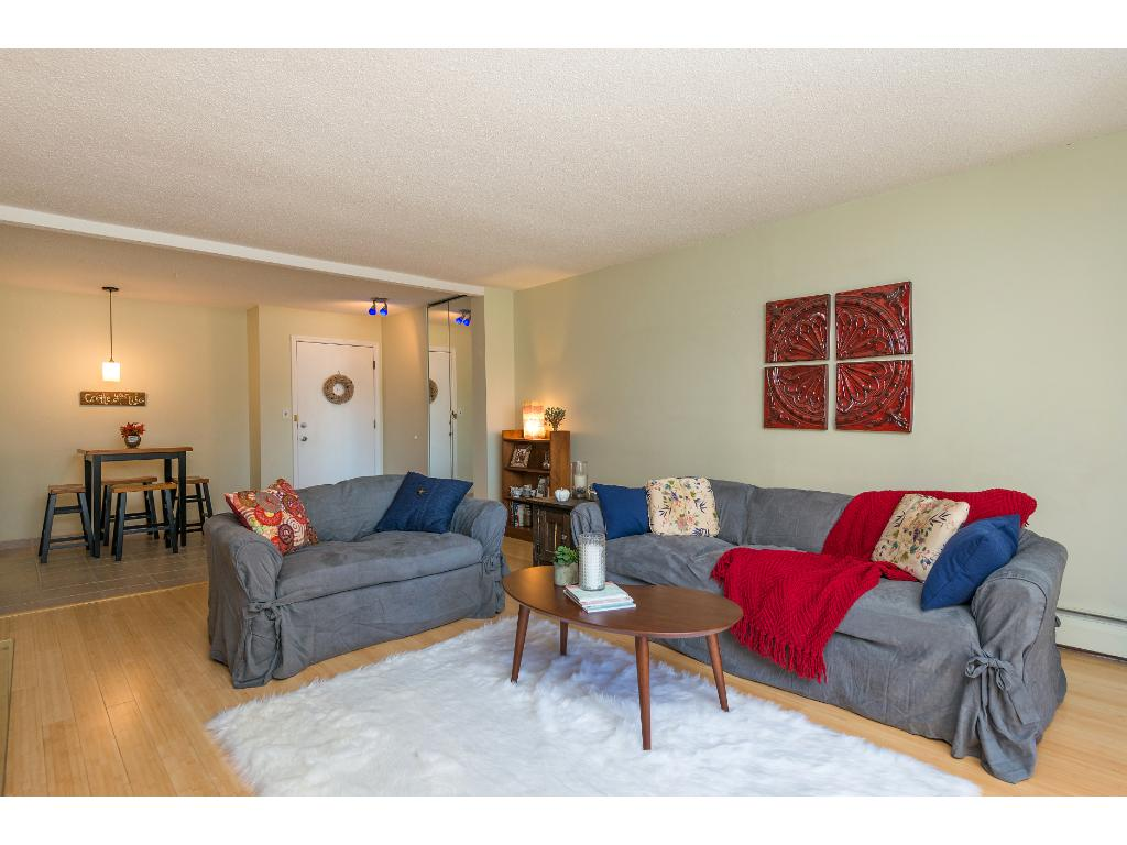 Updated with Hardwood floors and tile! Bright and inviting.