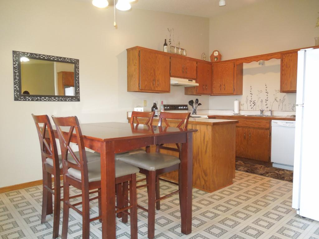 Open kitchen and dining room will be great for entertaining!