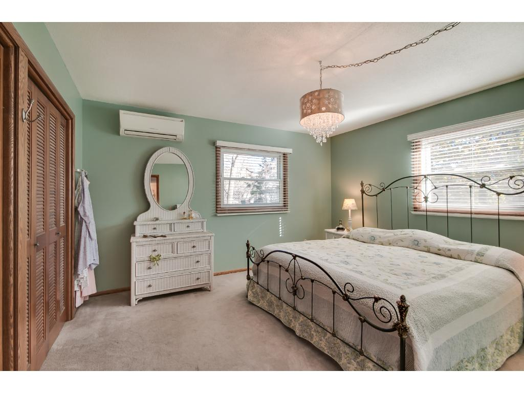 Another view of the master bedroom - Double closets!
