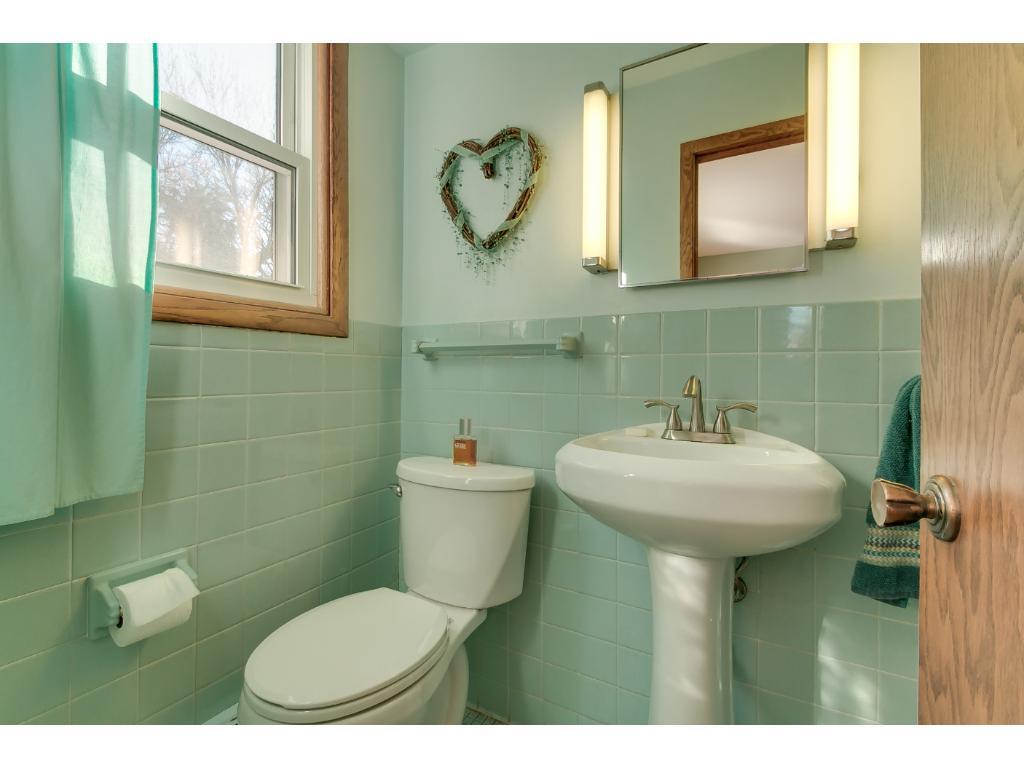 Master 3/4 bathroom.