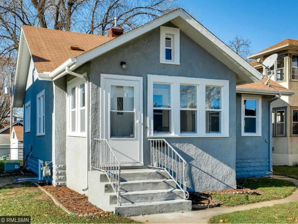 This sturdy stucco bungalow features new vinyl windows, new doors and a fresh coat of paint! Move in to 4504 Stevens before year end!