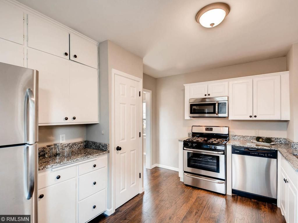 Remodeled kitchen features a panty, new dishwasher, new stove and new over the counter microwave.What's cooking at 4504 Stevens?  You can decide.