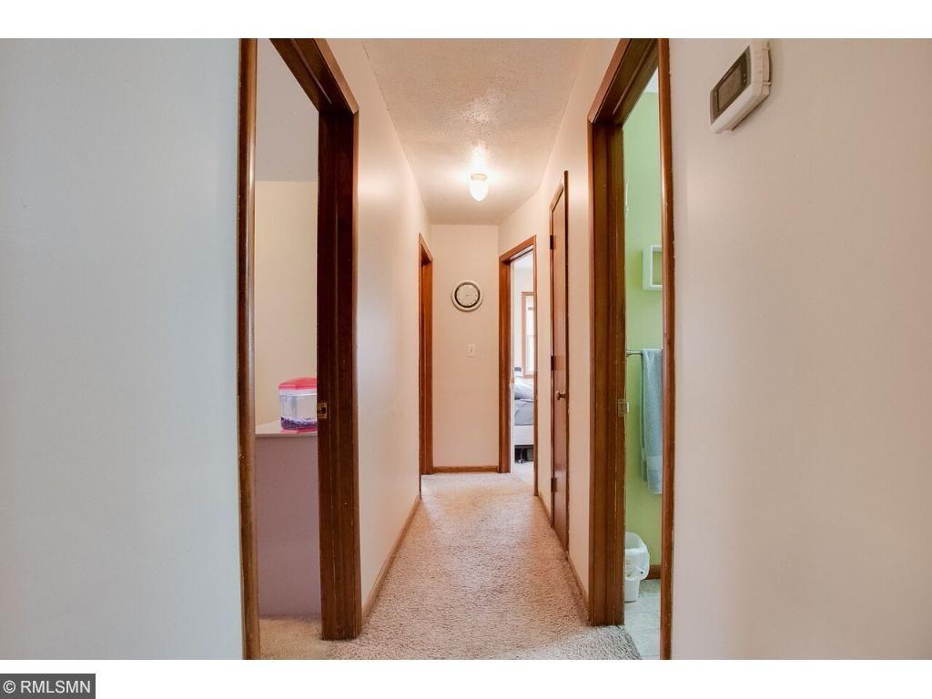 Hallway to the bedrooms.