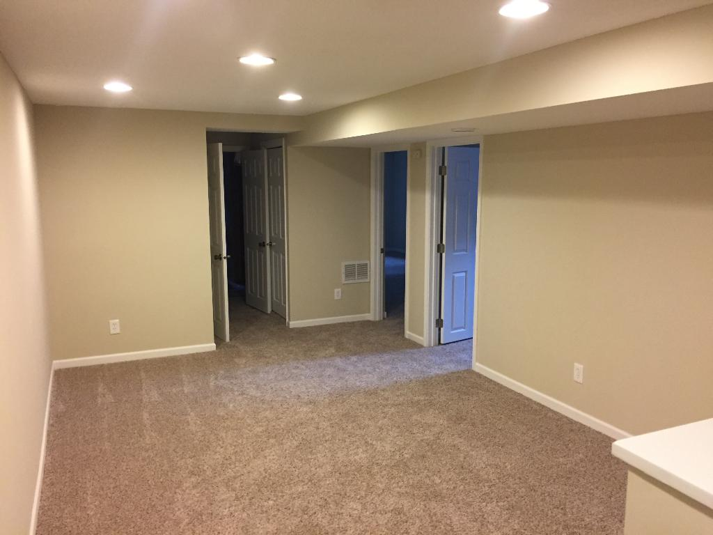 2nd bedroom is staged for kids room on main level.