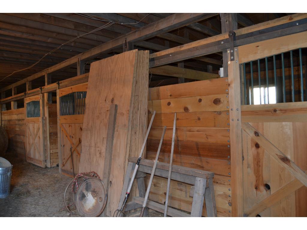 5 Box Stalls