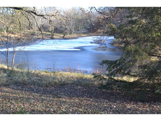 amazing pond on lot!