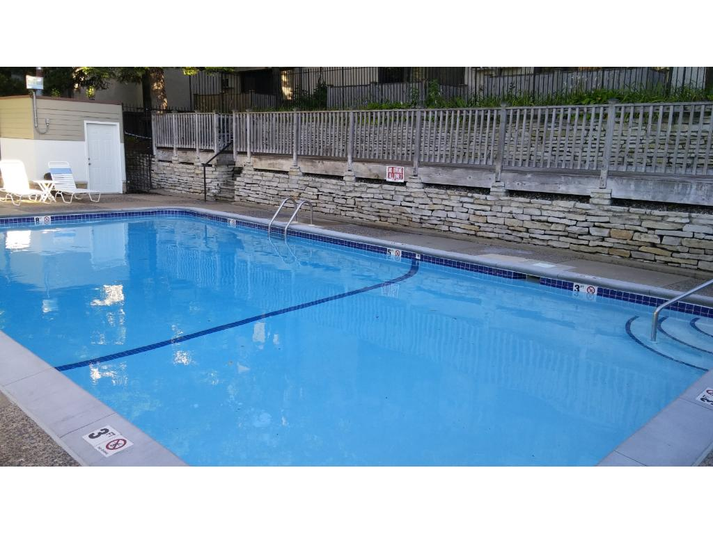 Relax by your heated outdoor pool. There are also 2 saunas with full bathrooms right inside the door from the pool. Well run association with on-site caretaker takes care of all maintenance. You just have to relax and enjoy.