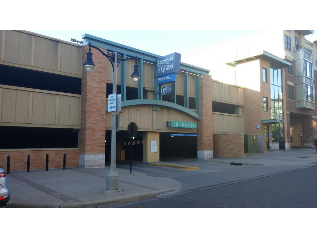 Free parking ramp directly across the street is perfect for guests and overflow parking.