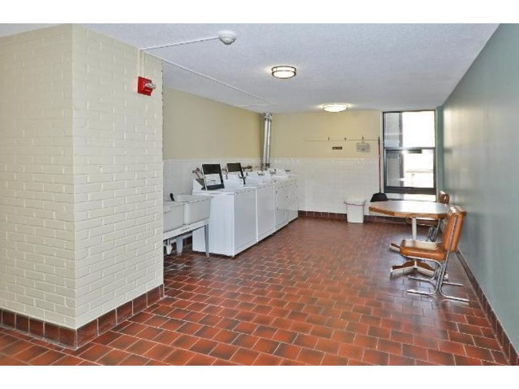 Laundry on every floor. Your closest laundry is directly across the hall from your condo unit.