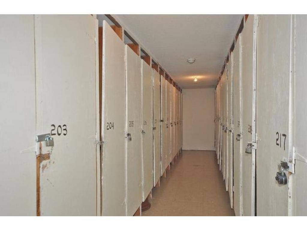 Extra storage room also directly across the hall from condo unit.
