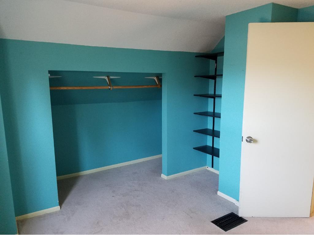 Nice size closet and storage area in the main Bedroom which is located on the back side of the home.