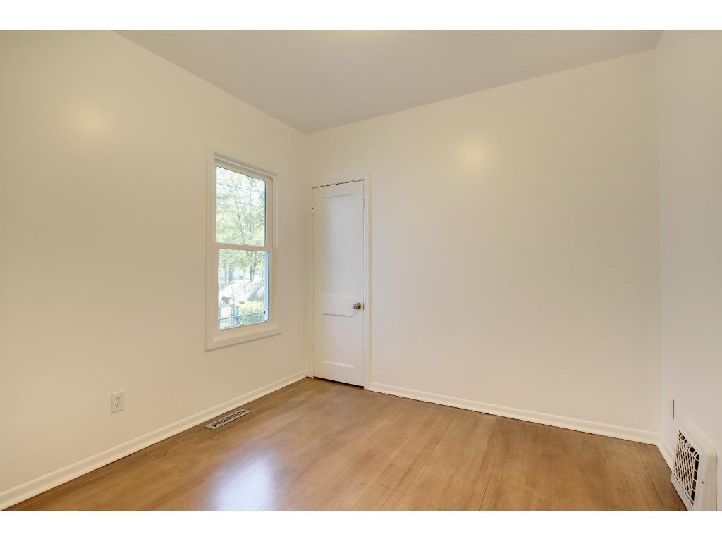 Second bedroom with deep closet.