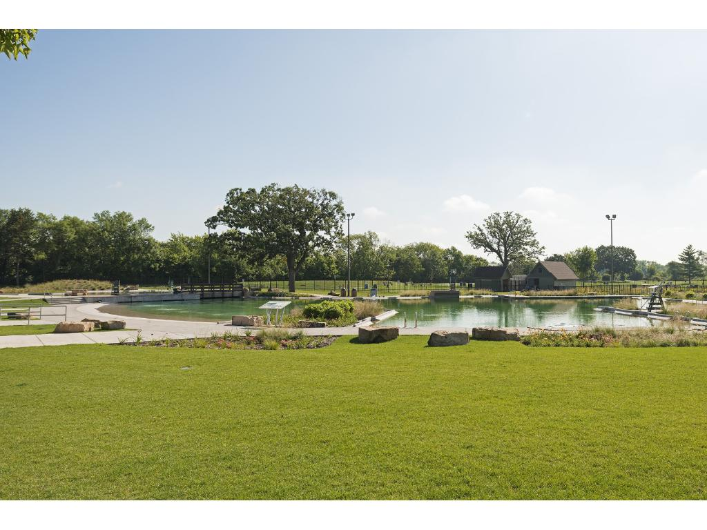 ...and 2 blocks from Webber's all natural community pool!