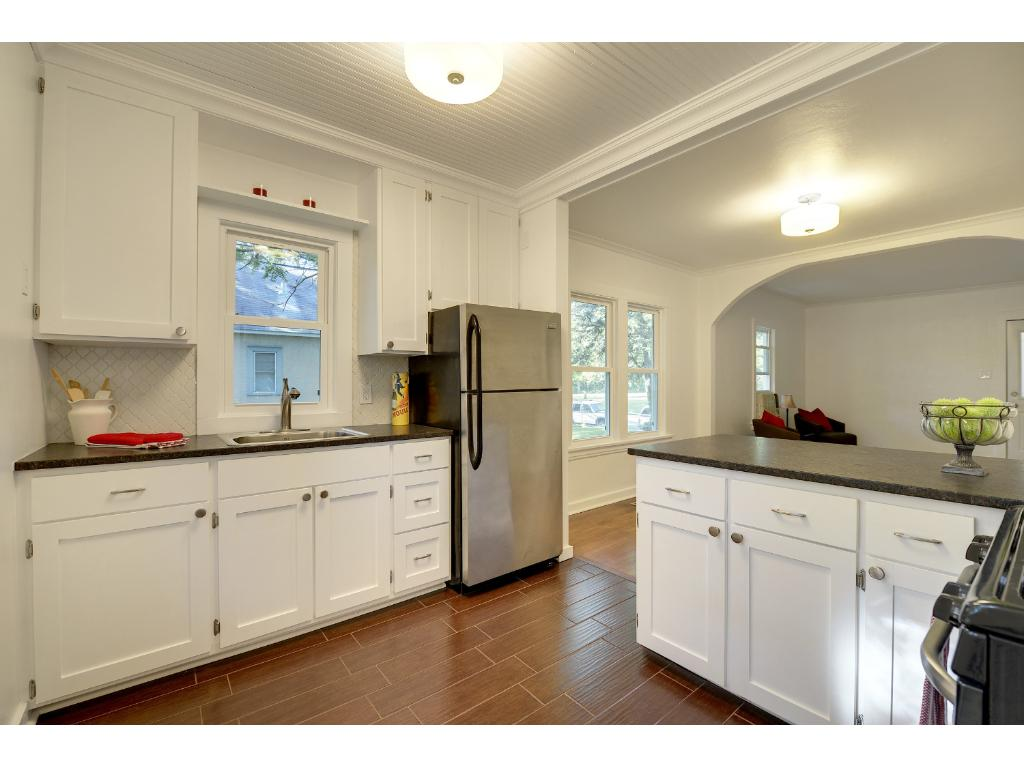 Completely remodeled kitchen...