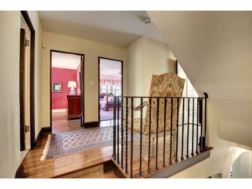 Second floor features terrific owner's suite plus three additional bedrooms.
