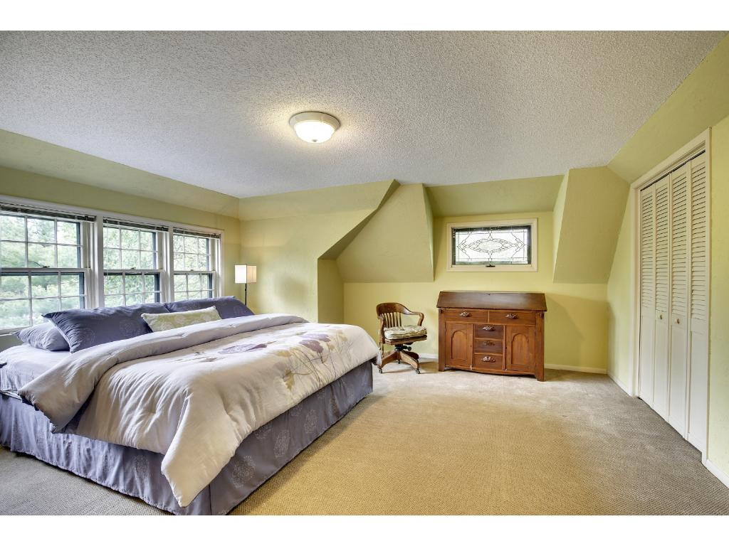 Third floor features a full bath and would be a great teen or nanny suite.