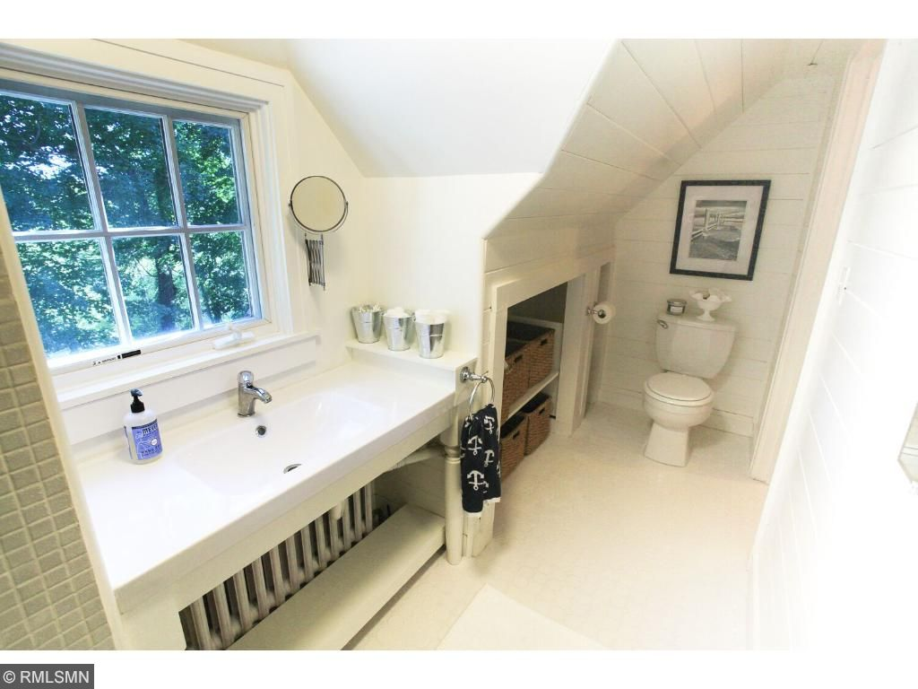 Newly updated with interesting dormer ceiling angles, bright and cheery