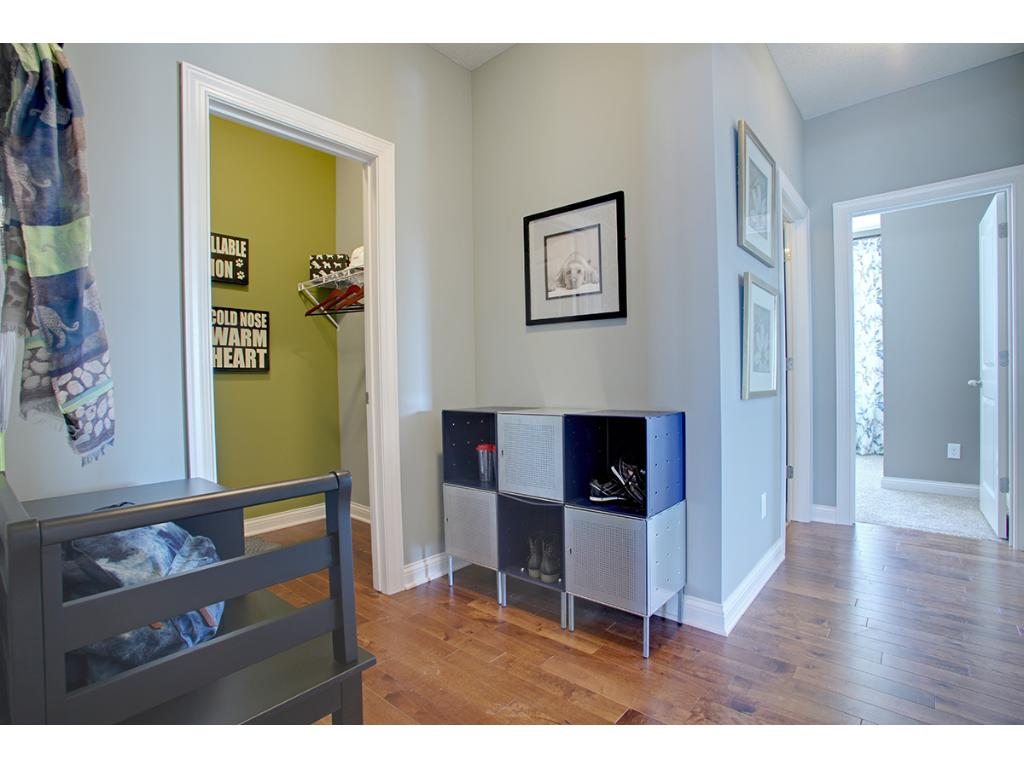 Space is also abundant in one the areas it's needed most: The Mudroom!!