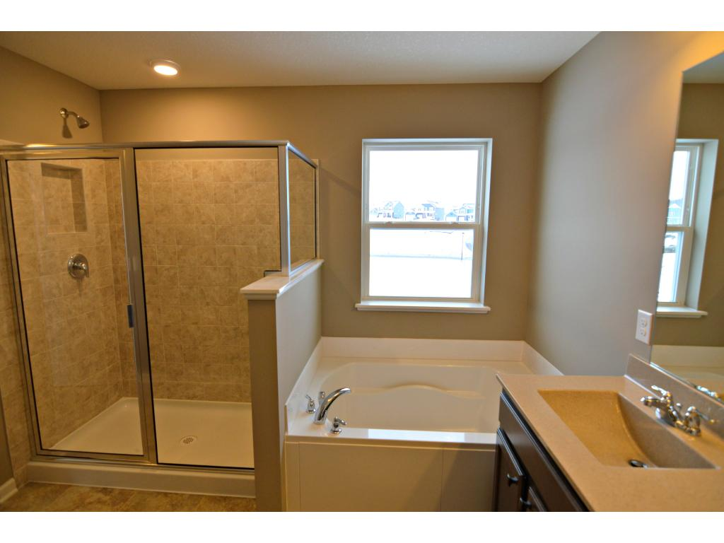 Your new homes comes complete with access to a private heated community pool and playground!