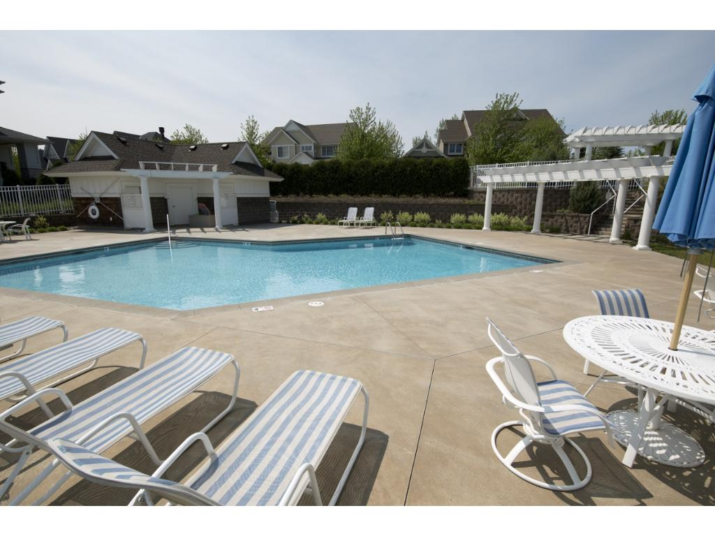 The neighborhood has a private pool for the residents and is a great gathering place in the summer for BBQ's.