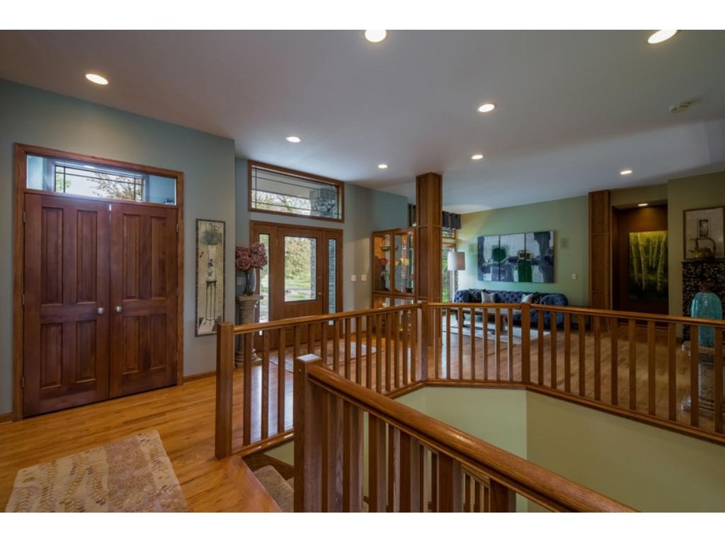 Open Foyer with sitting room