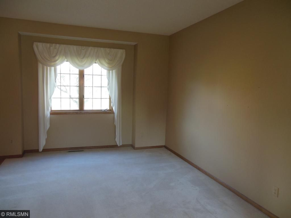 Enjoy living and family room on the main level