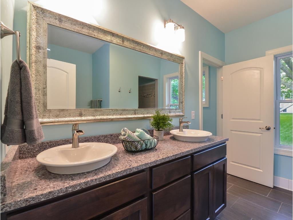 Master Bath Double Vanity - Just one part of this beautifully appointed Bath
