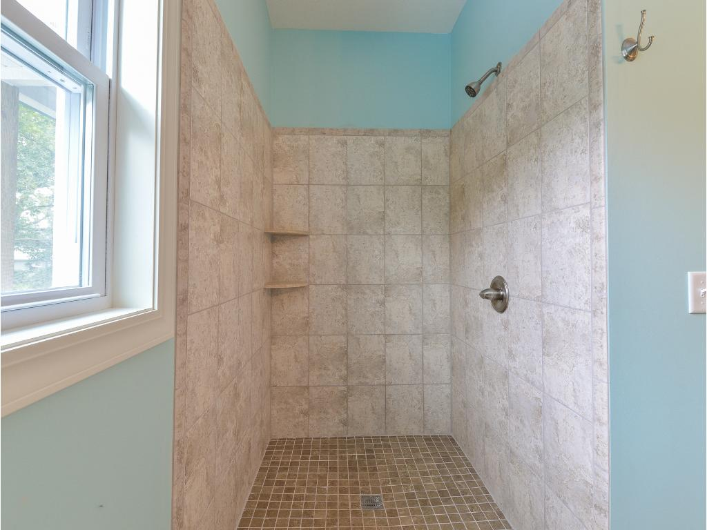 Guest Bath Shower Stall Detail