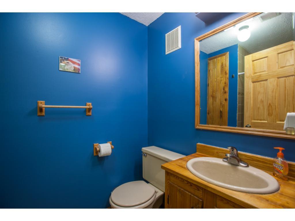 Lower level three quarters private bathroom