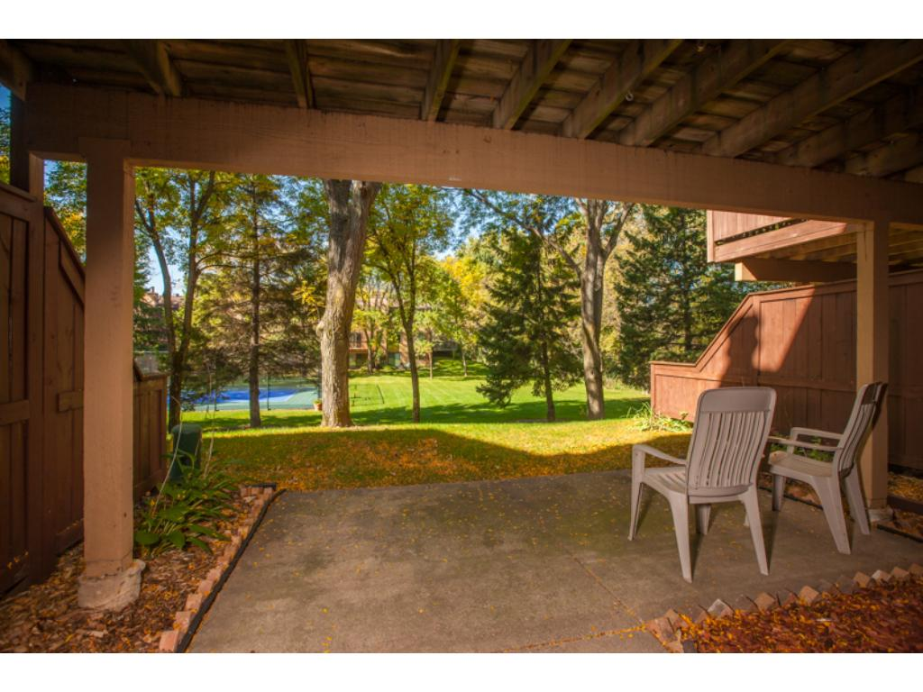Walk out basement to patio with stunning views as well