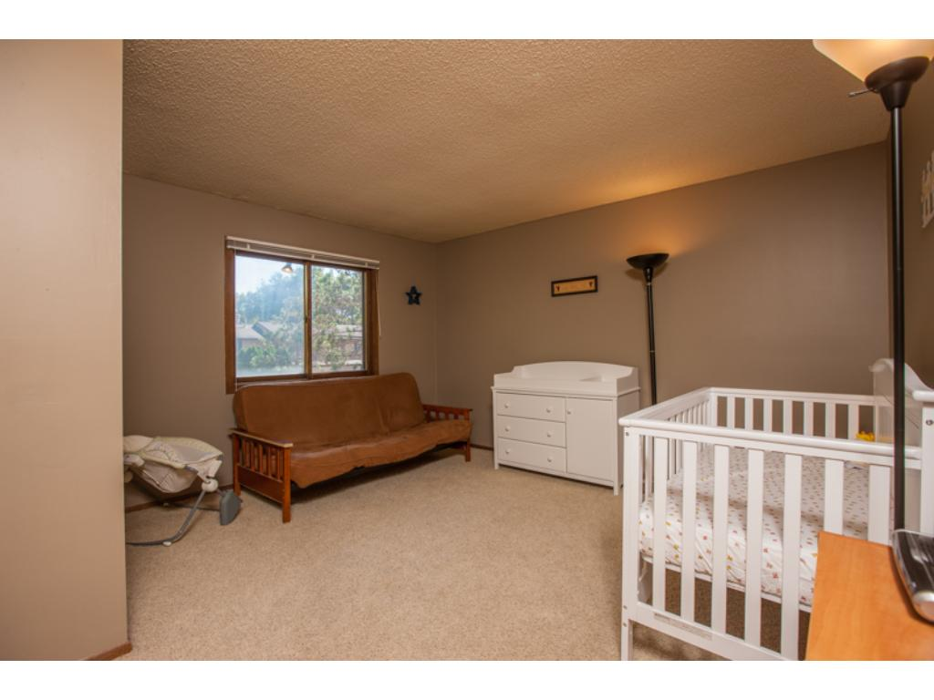 Large second bedroom on the upper level