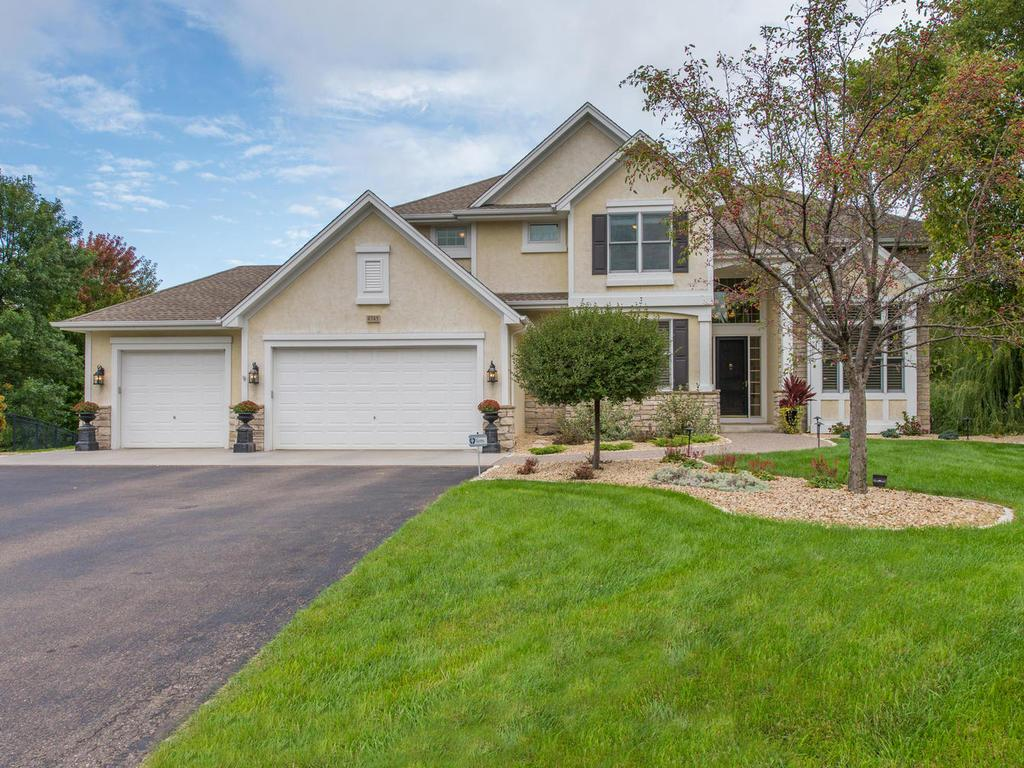 Professional landscaping and 9-zone irrigation system provides great curb appeal with this beautiful Home located on a nearly 1-acre private lot in Foxberry Farms. Wide aggregate sidewalk leads to front door to welcome guests! Also Heat/Insul Garage.