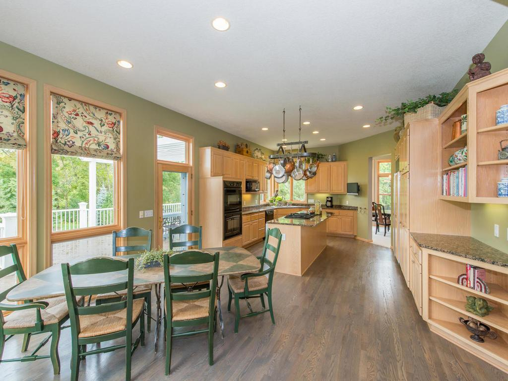 Another view of the Kitchen and Informal Dining Area.