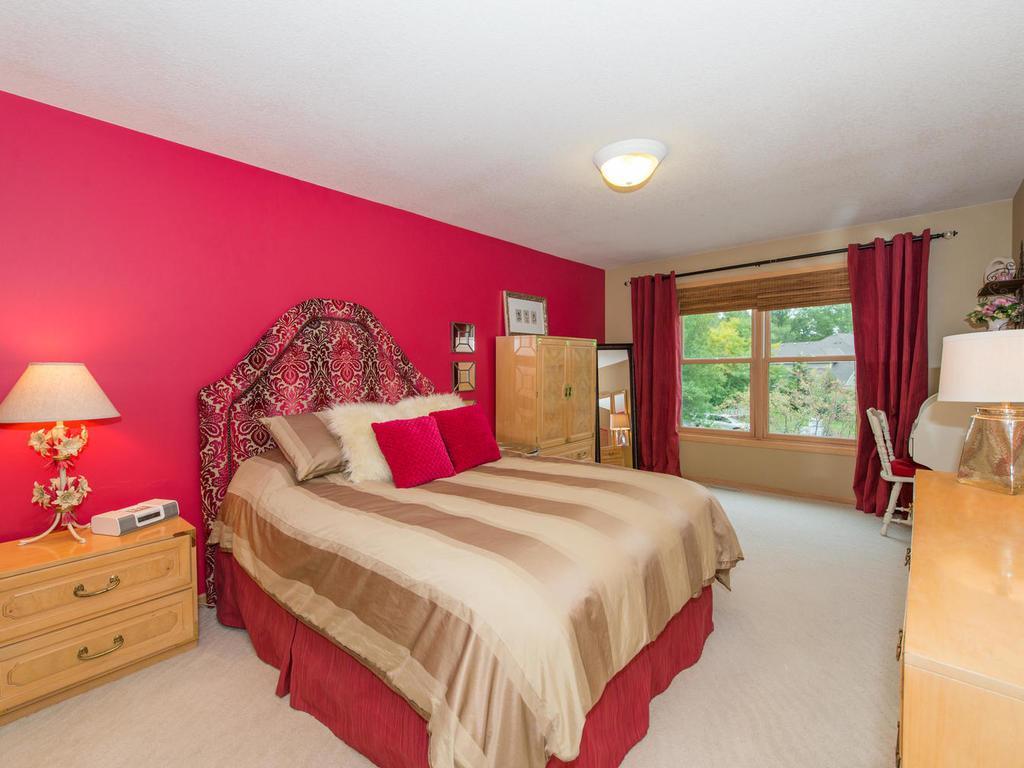 Upper level 16x11 Bedroom with walk-in closet