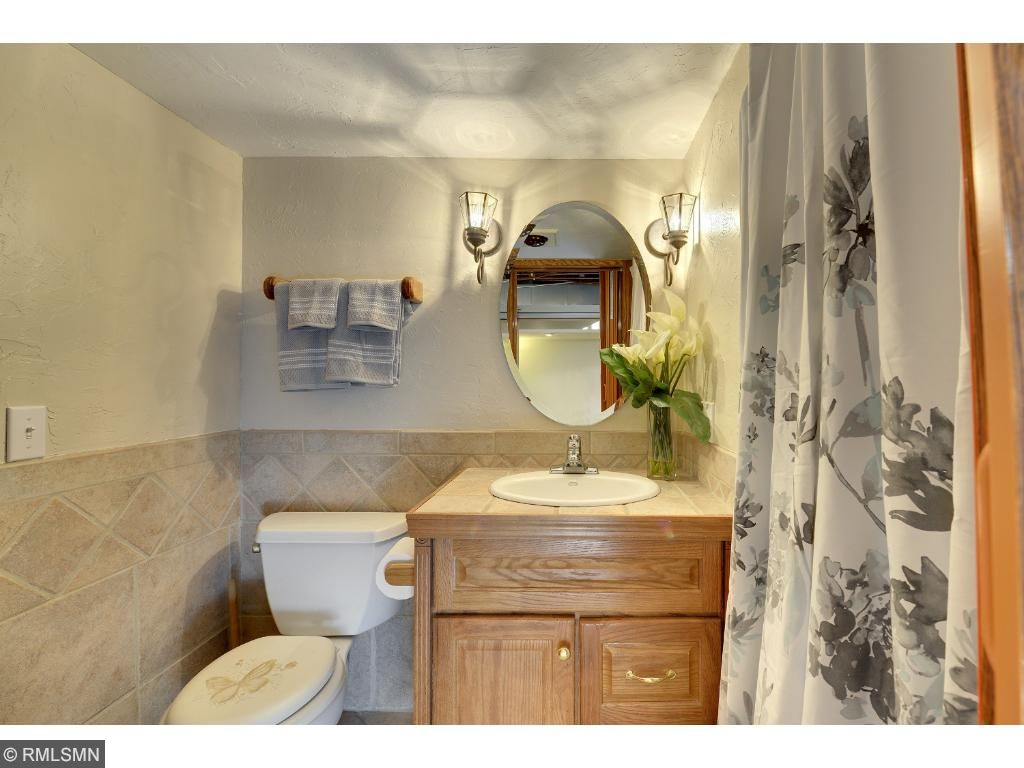 3/4 bathroom located in the lower level