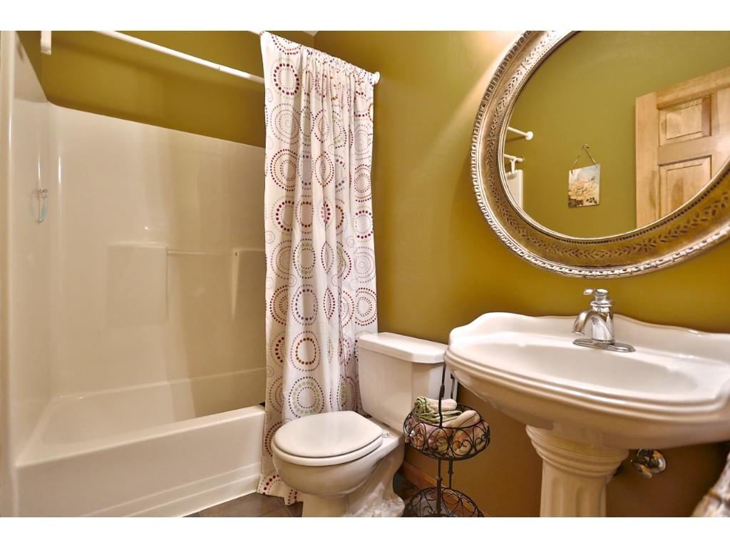 This is a shot of the Main floor full bathroom.